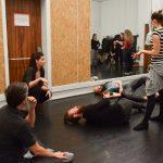 hipsters barbus danseurs spectacle paris live show