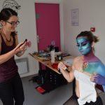 Laura Galoyer maquilleuse artistique body painting emajinarium free spirit