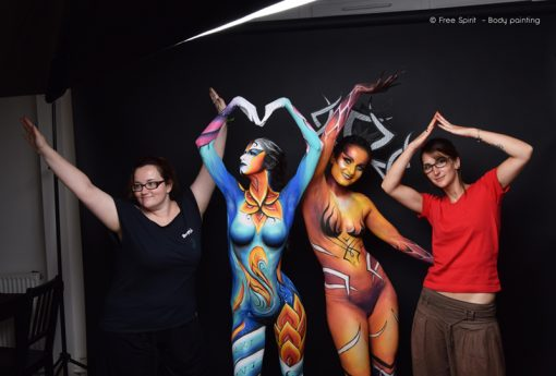 Body painting complet