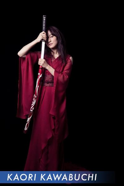 Kaori Kawabuchi Lady Samourai